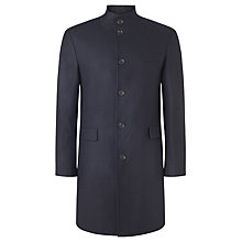 Buy John Lewis Funnel Neck Wool Blend Overcoat Online at johnlewis.com