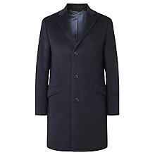 Buy John Lewis Epsom Wool Blend Notch Coat, Charcoal Online at johnlewis.com