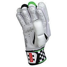 Buy Gray-Nicolls Powerbow Gen X 500 Right-Handed Cricket Batting Gloves, White/Green Online at johnlewis.com