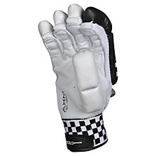 Buy Gray-Nicolls Oblivion E41 Right-Handed Cricket Batting Gloves, White/Black Online at johnlewis.com