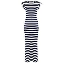 Buy Rise Gaddesden Dress, Blue/White Online at johnlewis.com