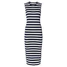Buy Rise Aldbury Dress, Blue White Online at johnlewis.com