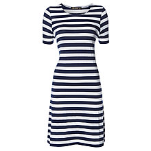 Buy Rise Ashbridge Dress, Blue White Online at johnlewis.com