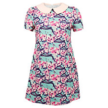 Buy Whistle & Wolf Blossom Print Collar Dress, Multi Online at johnlewis.com