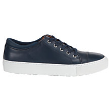 Buy Whistles Daria Lace Up Leather Trainers Online at johnlewis.com