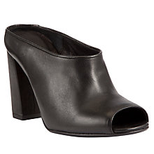 Buy Kin by John Lewis Thirty Seven Leather Shoe Boots, Black Online at johnlewis.com