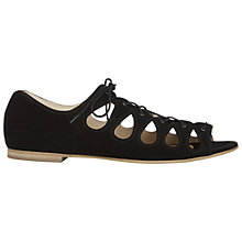 Buy NW3 by Hobbs Lulu Sandals, Black Online at johnlewis.com