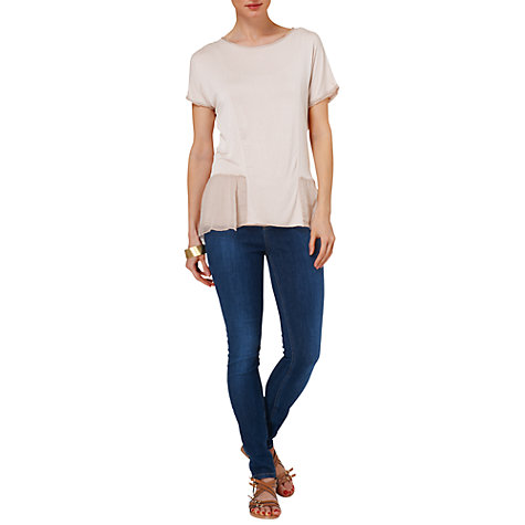 Buy Phase Eight Alana Top, Dusty Pink Online at johnlewis.com