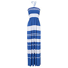 Buy Phase Eight Marie Maxi Dress, Lupin/White Online at johnlewis.com