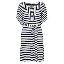 Buy Phase Eight Bianca Stripe Tunic, Navy/Ivory Online at johnlewis.com