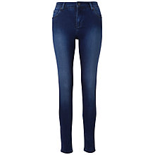 Buy Whistles Dark Vintage Skinny Jeans, Dark Denim Online at johnlewis.com