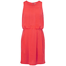 Buy Whistles Stevie Dress, Coral Online at johnlewis.com