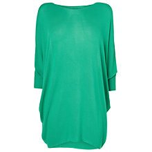 Buy Phase Eight Becca Batwing Jumper, Emerald Online at johnlewis.com