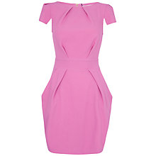 Buy Closet Tie Back Dress, Pink Online at johnlewis.com