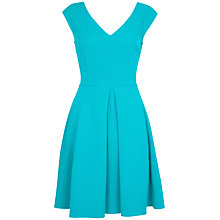 Buy Closet V-Neck Full Dress, Jade Online at johnlewis.com
