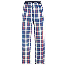 Buy Polo Ralph Lauren Check Woven Lounge Pants, Blue Online at johnlewis.com