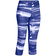 Buy Under Armour Perfect Printed Capri Trousers Online at johnlewis.com