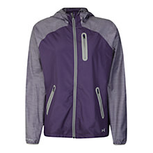 Buy Under Armour Qualifier Woven Jacket, Twilight Purple Online at johnlewis.com