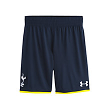 Buy Under Armour Junior Tottenham Hotspurs 2014/2015 Home Shorts, Navy Online at johnlewis.com
