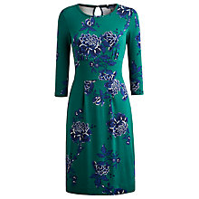 Buy Joules Vicky Floral Dress, Green Garden Online at johnlewis.com