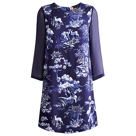 Buy Joules Beydale Woodland Dress, Woodland Scene Online at johnlewis.com