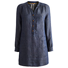 Buy Joules Tunic Dress, Indigo Online at johnlewis.com