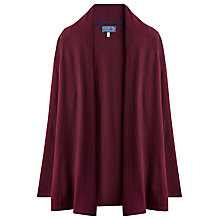 Buy Joules Floella Knit Cardigan, Damson Online at johnlewis.com