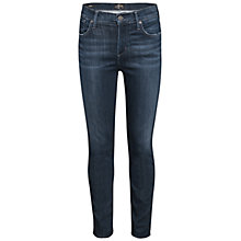 Buy A Gold E Sophie High Rise Skinny Jeans, Scene Online at johnlewis.com