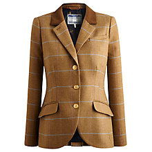 Buy Joules Arabella Check Tweed Jacket, Hapwell Tweed Online at johnlewis.com