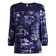 Buy Joules Enya Woodland Top, Woodland Scene Online at johnlewis.com