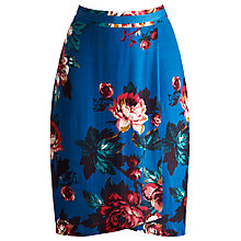 Buy Joules Caryn Floral Skirt, Dark Topaz Floral Online at johnlewis.com