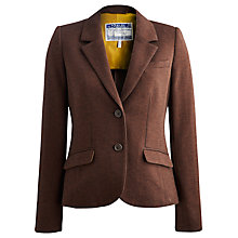 Buy Joules Henford Tweed Blazer, Brown Herringbone Online at johnlewis.com