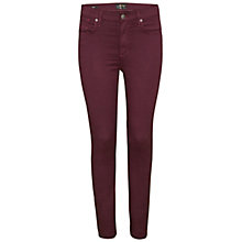 Buy A Gold E Sophie High Rise Jeans, Boysen Berry Online at johnlewis.com