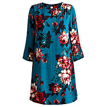 Buy Joules Beydale Floral Tunic, Dark Topaz Floral Online at johnlewis.com