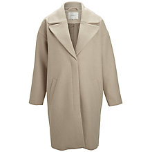 Buy Selected Femme Catrin Coat, Feather Grey Online at johnlewis.com