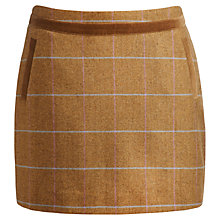 Buy Joules Hazel Check Tweed Skirt, Hapwell Tweed Online at johnlewis.com