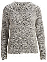 Selected Femme Halli Pullover, Silver Birch