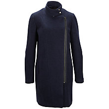 Buy Selected Femme Iben Coat, Sky Captain Online at johnlewis.com