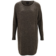 Buy Selected Femme Knit Dress, Black Online at johnlewis.com