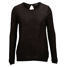 Buy Selected Femme Costa Pullover, Black Online at johnlewis.com