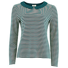 Buy People Tree Norah Stripe Top Online at johnlewis.com