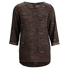 Buy Selected Femme Woody Top, Sky Captain Online at johnlewis.com