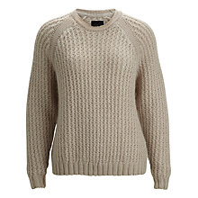 Buy Selected Femme Joey Pullover Jumper, Apple Blossom Online at johnlewis.com
