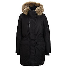 Buy Selected Femme Waterproof Jacket, Black Online at johnlewis.com