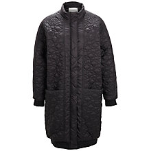 Buy Selected Femme Malina Coat, Black Online at johnlewis.com