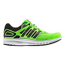 Buy Adidas Children's Duramo 6 Running Shoes, Green/Black Online at johnlewis.com