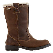 Buy Geox Sofia Amphibiox Leather Boots, Chestnut Online at johnlewis.com