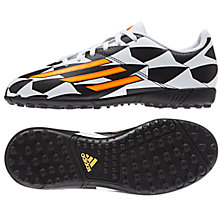 Buy Adidas F5 TF Football Boots, Multi Online at johnlewis.com