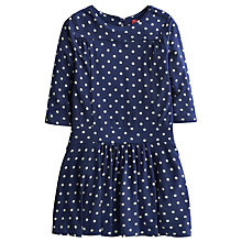 Buy Little Joule Julia Spot Dress, Navy Online at johnlewis.com