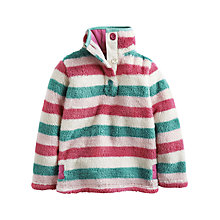 Buy Little Joule Girls' Merridie Striped Fleece, Multi Online at johnlewis.com